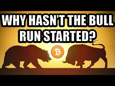 Why Hasn't The Bitcoin Bull Run Started? [Cryptocurrency Market Theory]