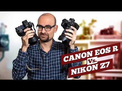 Canon EOS R vs Nikon Z7, la comparativa del milenio (guest start, Sony A7 III)