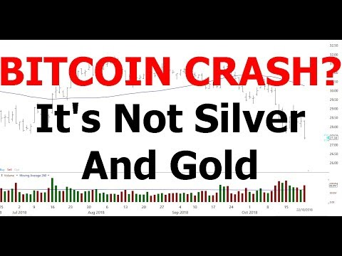 BITCOIN CRASH? –  It's Not Silver And Gold
