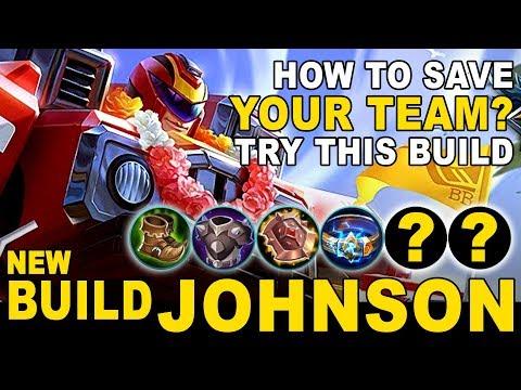JOHNSON Pake Build Ini !! Gak Ada Obatnya !! Mobile Legends