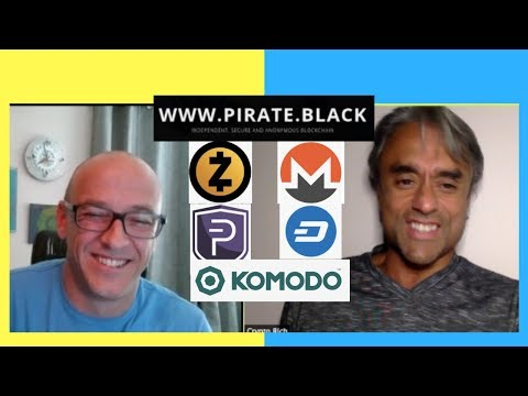 More Private than Monero, ZCash, DASH, Komodo and Pivx? PirateChain Interview