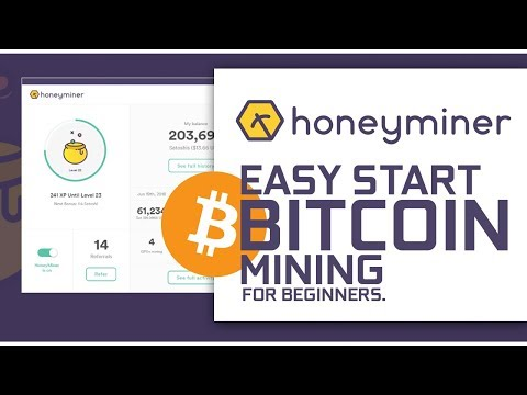 The Honeyminer, Good To Get Started With Bitcoin Mining on ANY PC!