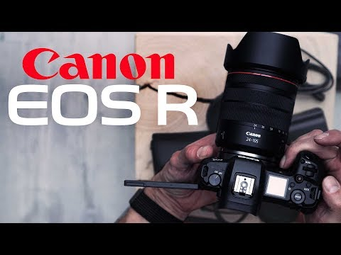 Canon EOS R – Unboxing mit dem  RF 24-105mm Kitobjektiv / Deutsch German