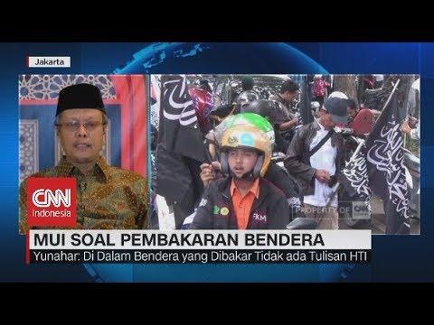 MUI: Di Bendera yang Dibakar Tidak ada Tulisan HTI