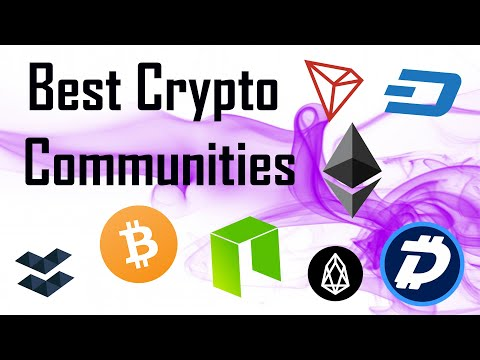 Best Crypto Communities | $ELA $NEO $DASH $DOGE $DGB $TRX $EOS