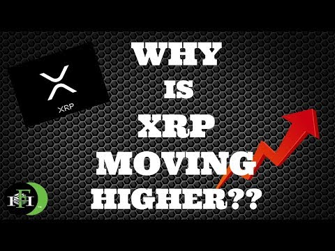 XRP RIPPLE WHY IS XRP FINALLY MOVING HIGHER!! (OCTOBER 2018)
