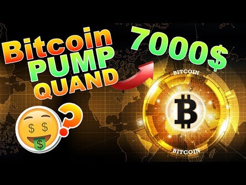 BITCOIN PUMP QUAND 7000$ !!!??? BTC analyse technique crypto monnaie