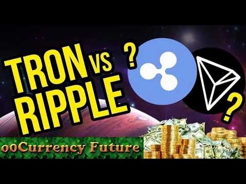 Tron (TRX) Looks to be the Best Coin in 2018 Outdoing 2017 Champion –  Ripple (XRP)