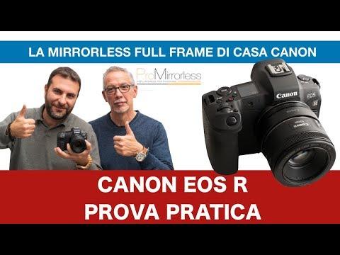CANON EOS R PROVA PRATICA. CONFRONTO CON SONY A7 III.