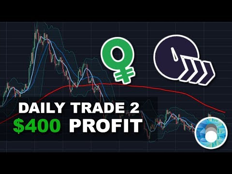 How I Made $400 PROFIT In 3 Hours Day Trading Cryptocurrency | Daily Trade #2
