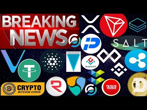 DON'T MISS THIS!- EPIC XRP NEWS!- ADA: BIG NEWS!- FORBES JUMPS IN!- VeChain in Action!