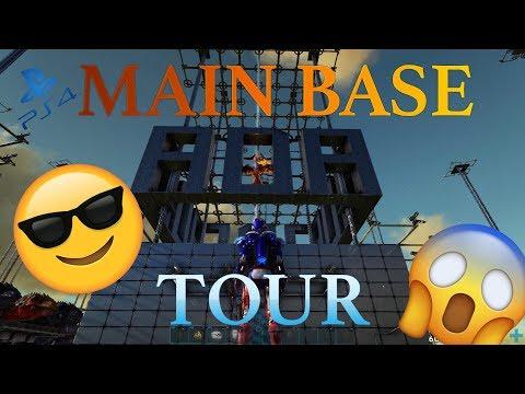 ARK PvP PS4 – ADA Main Base Tour