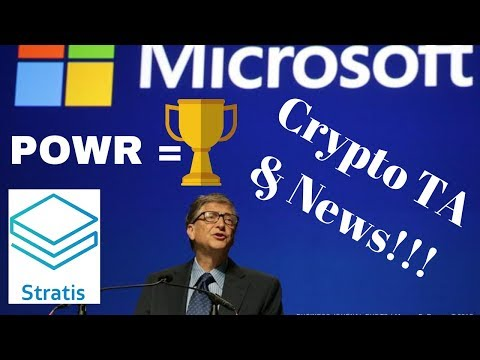 Coinbase Listing Tonight!? POWR Undervalued! Stratis Microsoft Partnership! Zen Swag Giveaway!