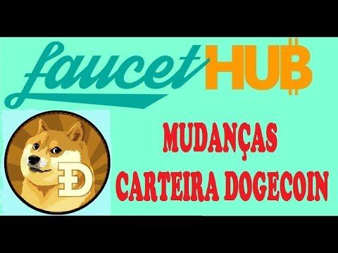 FAUCETHUB MICROWALLET VEJA AS MUDANÇAS E CONFIGURE SUA NOVA CARTEIRA DOGECOIN