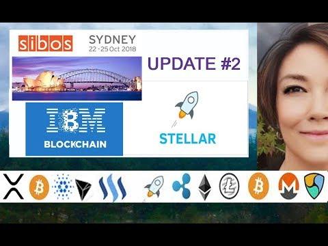 SIBOS Interview IBM World Wire Jesse Lund re STELLAR LUMENS XLM & Stablecoins, Visa B2B Connect