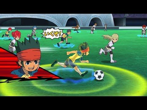 Inazuma Eleven Go Strikers 2013 Neo Raimon Vs Neo Genesis Wii 1080p (Dolphin/Gameplay)