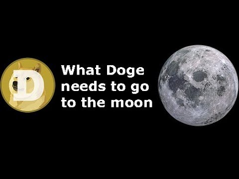 Dogecoin – What it needs to get to $1 and to the moon!