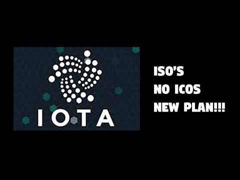 IOTA to replace ICOs with ISOs, genius or not?