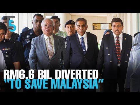 "EVENING 5: Najib, Irwan diverted billions ""to save M'sia"""