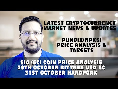 Cryptocurrency Market News & Updates. SIA (SC) coin HARD FORK. BITTREX SC USD. PundiX Price Analysis