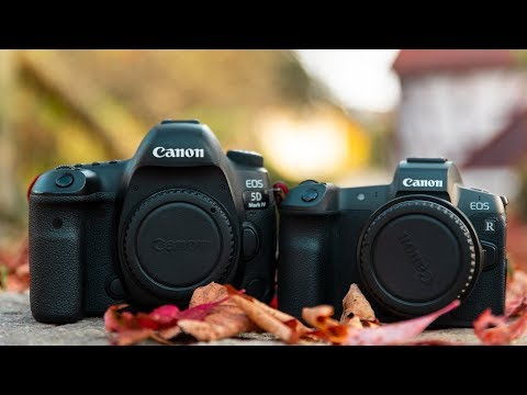 Canon EOS R vs. 5D Mark IV Vergleich – Bildqualität, Farben uvm. | Deutsch