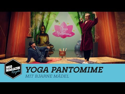 Yoga Pantomime mit Bjarne Mädel | NEO MAGAZIN ROYALE mit Jan Böhmermann – ZDFneo
