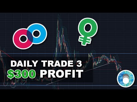 How I Made $300+ PROFIT Overnight Day Trading Cryptocurrency | Daily Trade #3