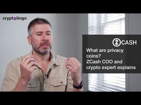 What are Privacy Coins? | ZCash COO and Crypto expert Jack Gavigan Explains