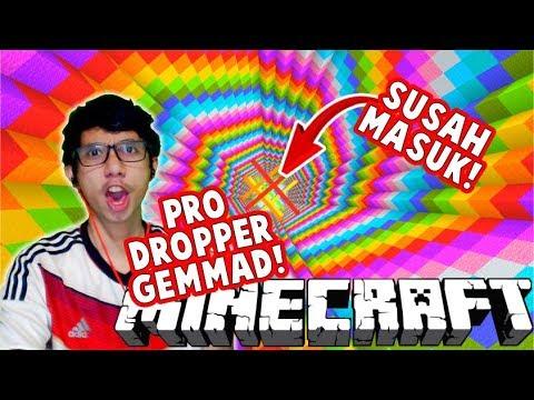 GAK ADA YANG SUSAH MASUK UNTUK GEMMAD THE REAL PRO DROPPER MINECRAFT ! – PART 4