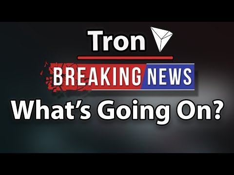 Tron (TRX) What's Going On? New Huge Platform! Baidu Partnership & More!