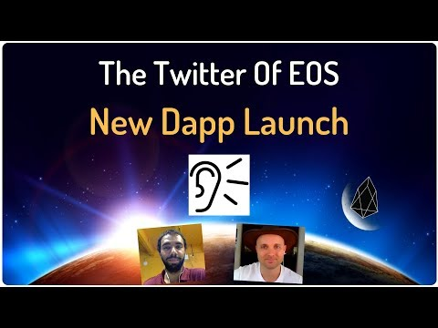 The Twitter Of EOS – New Dapp Revealed