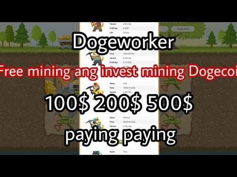តោះរកកាក់ Dogecoin | How to Dogeworker Update free dogecoin and invest 1000-500000 dogecoin khmer