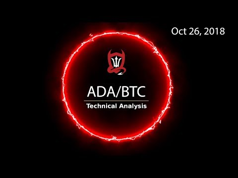 Cardano Technical Analysis (ADA/BTC) : It's a Start…  [10.26.2018]