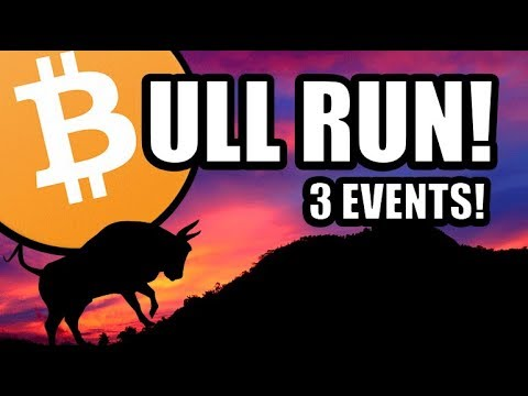 1 Of These 3 Events Will Trigger The Next Bull Run! [Bitcoin/Cryptocurrency News]