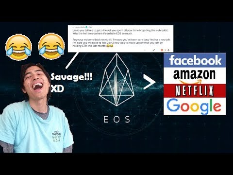 The EOS Times | What EOS Can Do That Centralized Services CANNOT! + SAVAGE ROAST OF AN ETH TROLL??