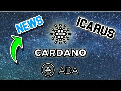 Cardano (ADA) Icarus and Roadmap update & More BIG names getting involved in Crypto!