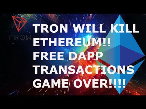 WITH ZERO FEES ON DAPP GAMES TRON WILL CONTINUE TO KILL ETH!!!