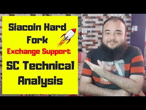 Siacoin Hard Fork –  Siacoin Hard Fork Exchange Support – SC Technical Analysis