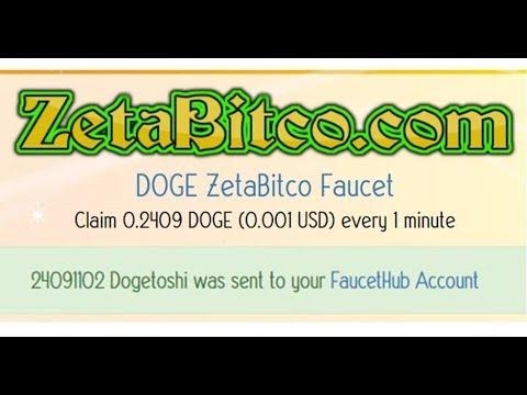 Claim 0.2409 DOGE 1 minute เครม dogecoin ฟรีทุก1นาที