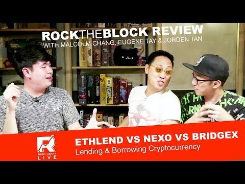 ETHLend vs Nexo vs BridgeX – Lending & Borrowing Cryptocurrency