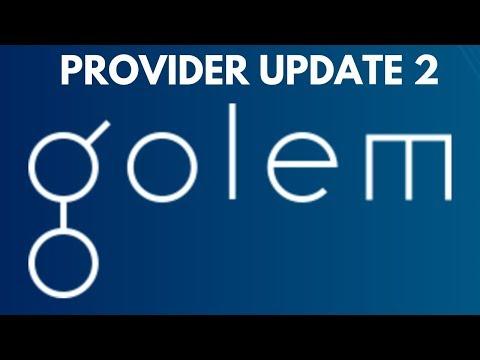 Golem Network Provider Update 2