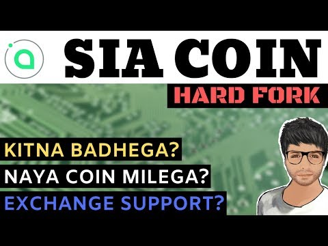SIA Coin HardFork – Price Prediction, New Coin? Exchange Support – Hindi / Urdu