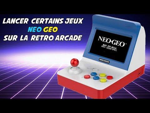 Mettre certains jeux neo geo sur la mini borne retro arcade