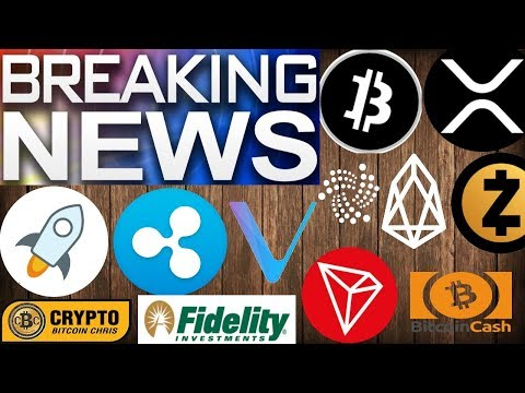 DON'T MISS THIS ONE!? PROOF: MAINSTREAM ADOPTION!? Fidelity Exchange? TRON DEX? Ripple & Google
