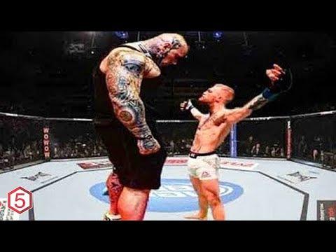 MONSTER! 10 PETARUNG MMA BERTUBUH RAKSASA TERBESAR YANG PERNAH ADA