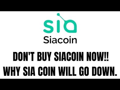 SIACOIN Will 2x?? or GO DOWN – HINDI