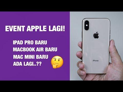 Ada Apa di Event Apple Oktober Besok?  — iPad Pro / Mac Mini / MacBook Air 2018 Baru?