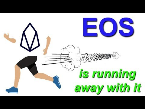 The exponential growth of the EOS network : 4.5 months in