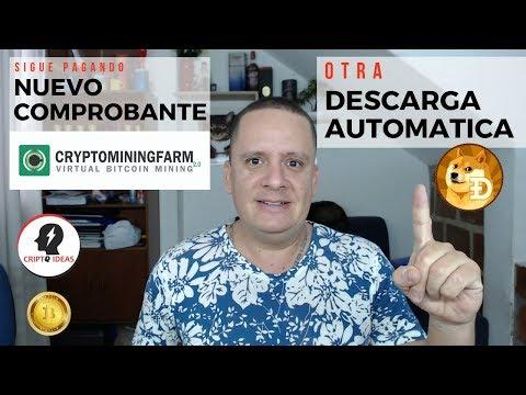 CRYPTOMININGFARM NUEVO COMPROBANTE DE PAGO – APESAR DE TODO SIGUE PAGANDO – DOGECOIN AUTOMÁTICO
