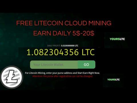 YoursLTC – Cloud Mining Litecoin   Earn free Litecoin up to $5 – 10$ LTC – SatoshiLite